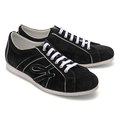 Brioni // Suede Sneaker // Black (Euro: 43)