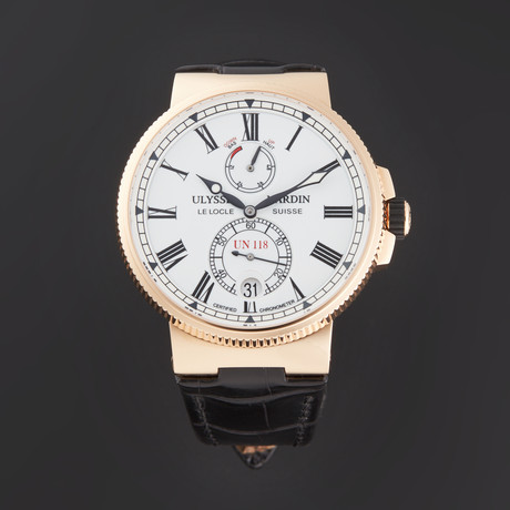 Ulysse Nardin Marine Chronometer Manufacture Automatic // 1186-122/40 // Store Display