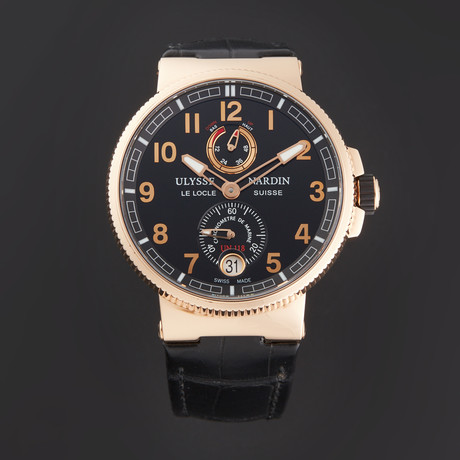 Ulysse Nardin Marine Chronometer Manufacture Automatic // 1186-126/62 // Store Display