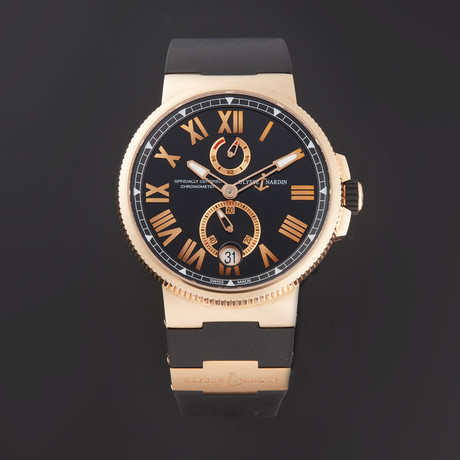 Ulysse Nardin Marine Chronometer Manufacture Automatic // 1186-122-3/42 // Store Display