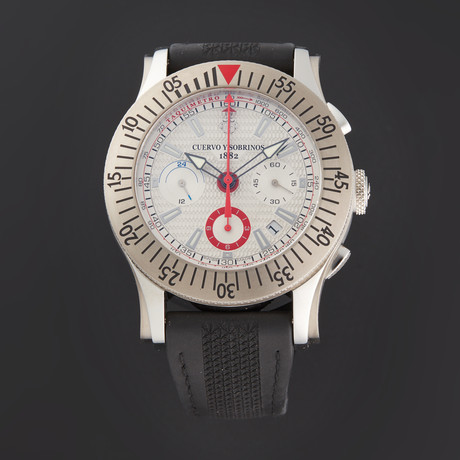 Cuervo y Sobrinos Robusto Chronograph Automatic // 2175.1A // Store Display