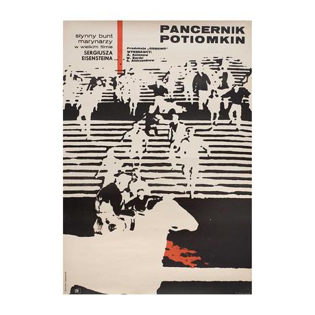 Battleship Potemkin // R1967 // Polish A1 Poster