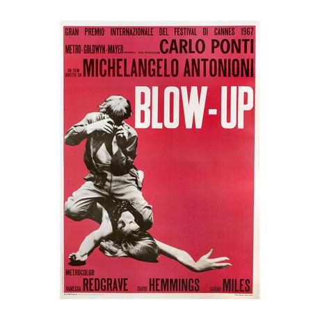 Blow-Up // R1970s // Italian Due Fogli Poster