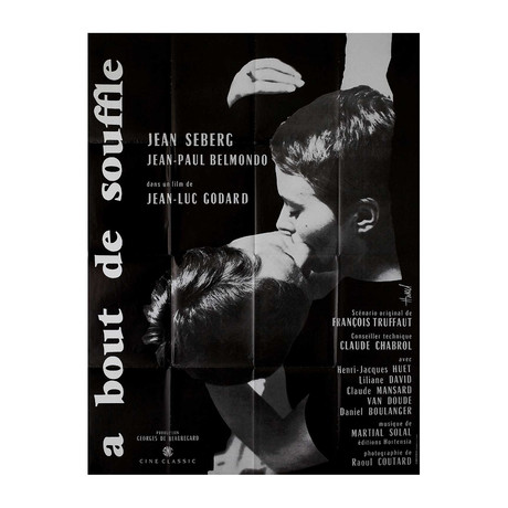 Breathless // R1980s // French Grande Poster