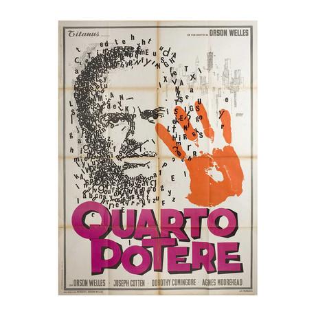 Citizen Kane // R1966 // Italian Due Fogli Poster