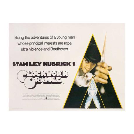 A Clockwork Orange // 1972 // British Quad Poster