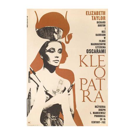 Cleopatra // 1964 // Polish A1 Poster