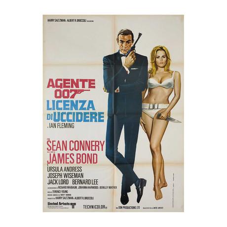 Dr. No // R1970s // Italian Due Fogli Poster