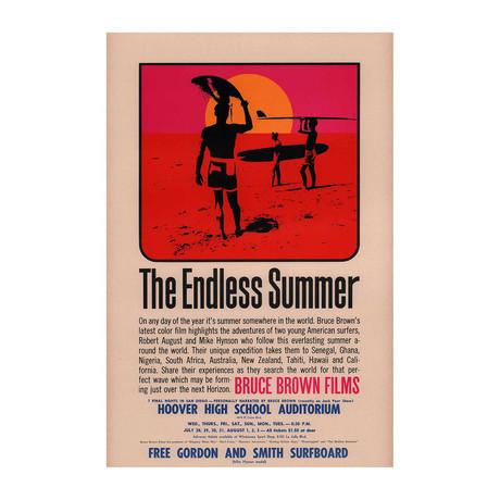 The Endless Summer // 1966 // U.S. Mini Poster