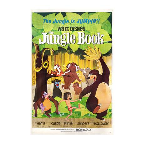 The Jungle Book //1967 // U.S. One Sheet Poster