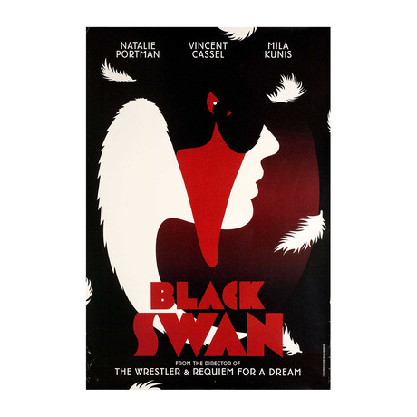 Black Swan // 2010 // British One Sheet Poster