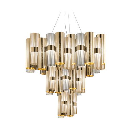 La Lollo Suspension Lamp // Gold // XL
