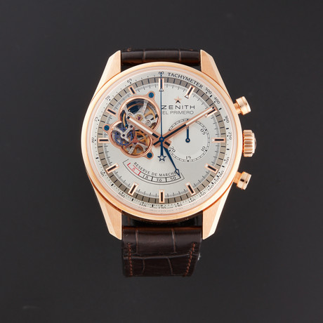 Zenith Chronomaster Open Power Reserve Chronograph Automatic // 18.2080.4021/01 // Store Display