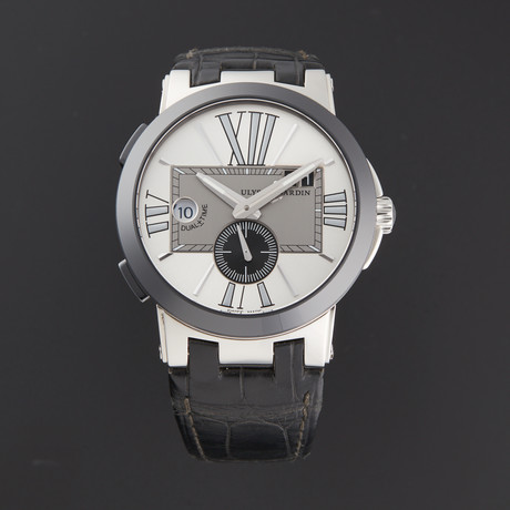 Ulysse Nardin Executive Dual Time Automatic // 243-00/421 // Store Display