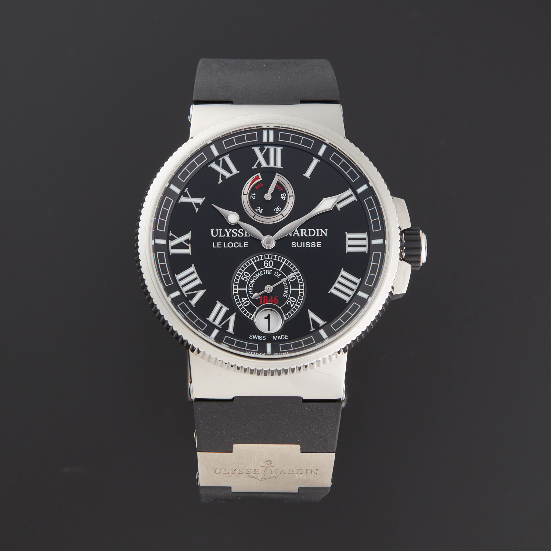 687f91ff71f7 Ulysse Nardin Marine Chronometer Manufacture Automatic    1183-126-3 42