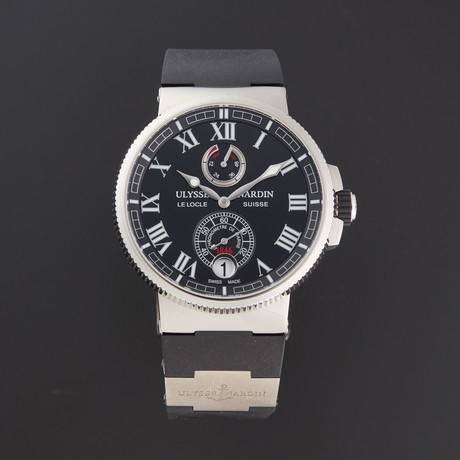 Ulysse Nardin Marine Chronometer Manufacture Automatic // 1183-126-3/42 // Store Display