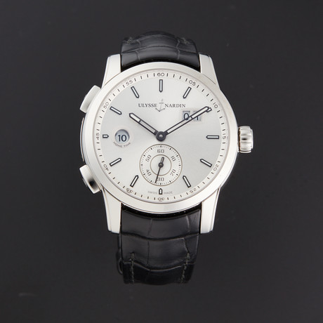 Ulysse Nardin Dual Time Manufacture Automatic // 3343-126/91 // Store Display