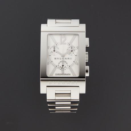 Bvlgari Rettangolo Chronograph Quartz // 101092 // Store Display