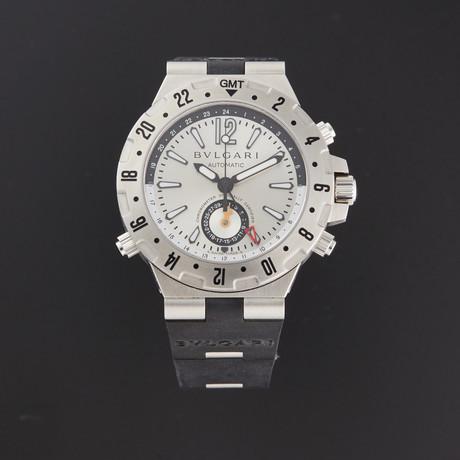 Bvlgari Diagono Professional GMT Aria Automatic // GMTT40C5SVD // Store Display