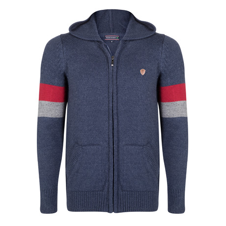 Ollie Knitwear Jacket // Indigo (S)