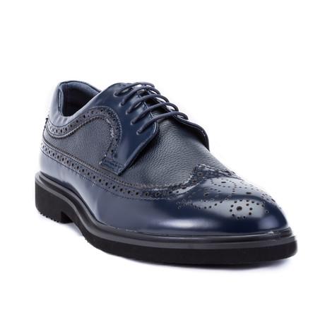 Cesar I Dress Shoes // Navy (US: 8)