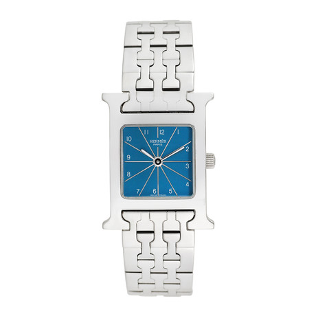 Hermes H-Watch Quartz // Pre-Owned