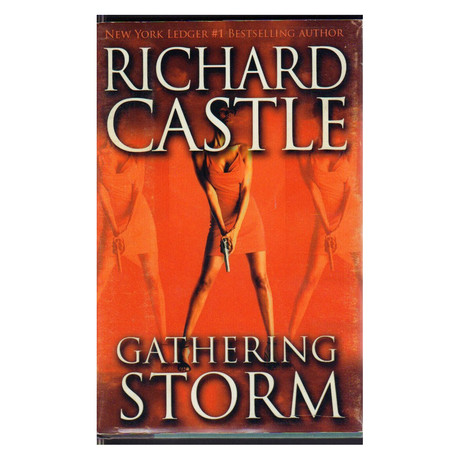 "Castle // Screen Used Prop Book ""Gathering Storm"""