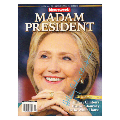 Newsweek // Recalled Misprint // Hillary Clinton