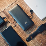 SCOUT // World's Most Versatile Charger (Wireless // 5000mAh + Wireless Charging)