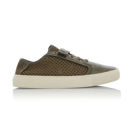 Pagno Low Sneakers // Olive // Olive (US: 7)