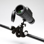 Exposure Optics Monocular Telescope + Self Gripping Tripod