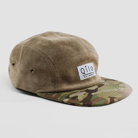 Two-Tone Camp Cap // Desert + Multicam