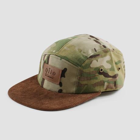Two-Tone Camp Cap // Multicam + Oak Corduroy