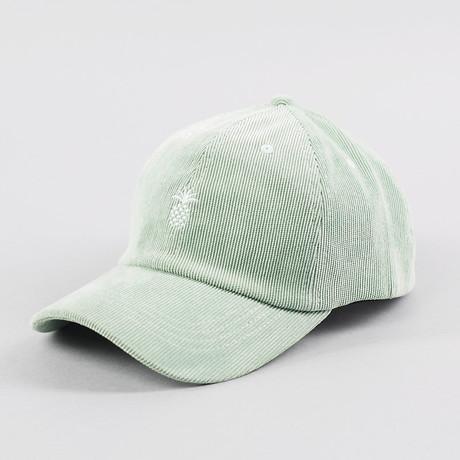 Pineapple Corduroy Cap // Fog Green
