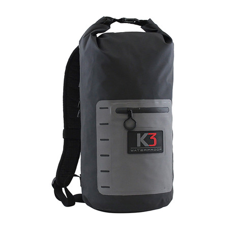Drifter Waterproof Backpack // Limited Edition // Gray