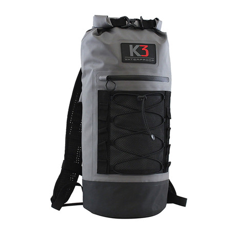 Storm Waterproof Backpack // 20 Liter // Gray