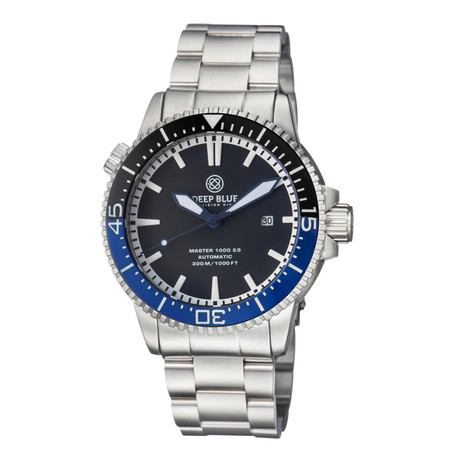Deep Blue Master 1000 2.5 Diver Automatic // M1K25CERBTMNWHITE