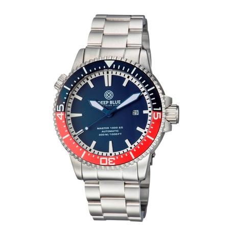 Deep Blue Master 1000 2.5 Diver Automatic // M1K25CERPEPSIBLUE