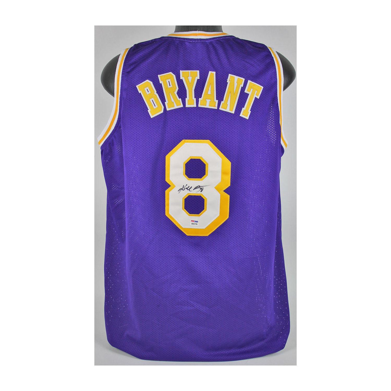 bb73e090a9d LA Lakers    Signed Purple Jersey    Kobe Bryant (Framed) - Piece Of ...