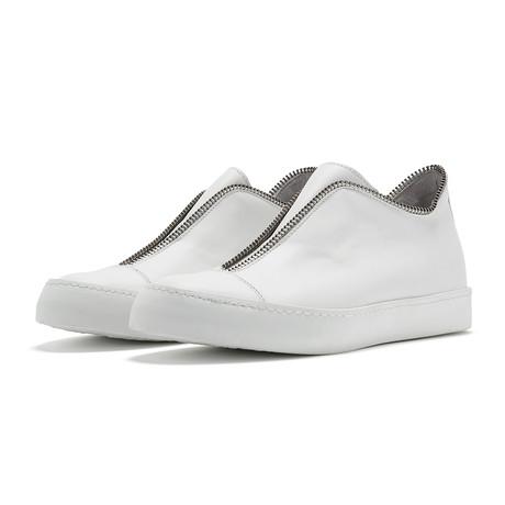 South Lane // Avant Raw Low-Top Sneaker // White (Euro: 36)