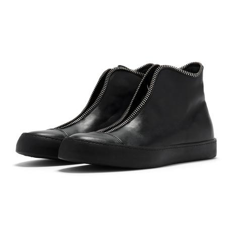 South Lane // Avant Raw High-Top Sneaker // Black (Euro: 36)