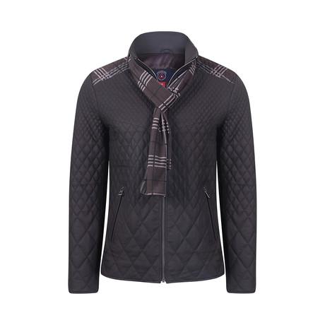 Paul Leather Jacket // Brown Tafta (M)