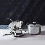 Stainless Steel Set // 7 Piece Set