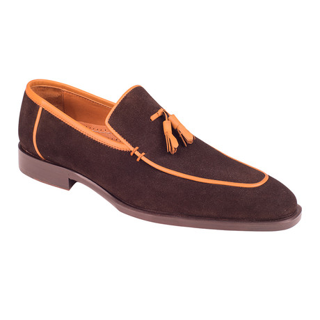 Tassel Loafer  // Brown Suede (Euro: 39)