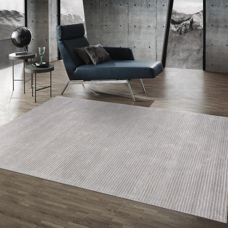 "Tribeca Hand-Tufted Silk & Wool Area Rug (8'9"" x 11'9"")"
