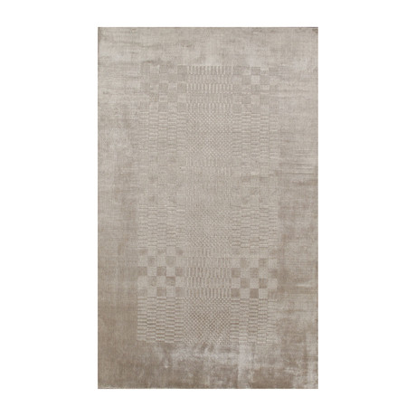 Tribeca Hand-Loomed Silk Area Rug // 5' x 8'