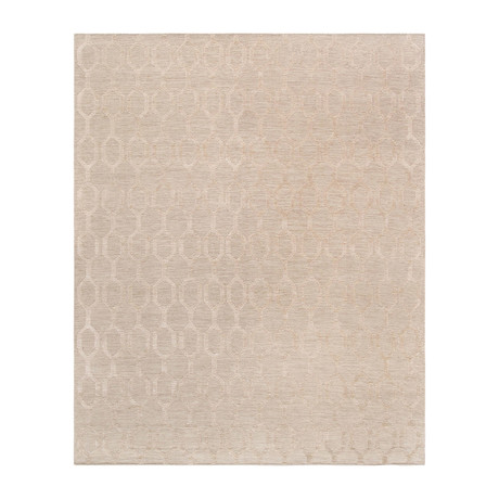 Tribeca Hand-Woven Silk & Wool Area Rug (5' x 8')