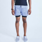Eco II Dog Shorts // Blue (M)