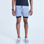 Dog II GreenDefence Shorts // Blue (S)
