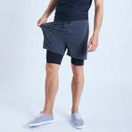 Eco II Dog Shorts // Graphite (XL)